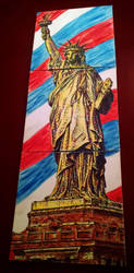 Statue of Liberty by nthomas-illustration