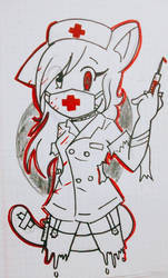 psychopathic nurse by kary22