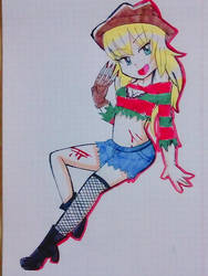 freddy krueger girl by kary22