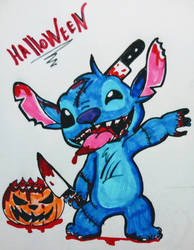 Stitch killer by kary22