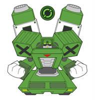 Commandoman.EXE - progress by Higure-san