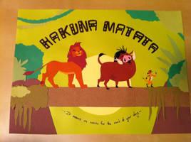Hakuna Matata by alexpeanut