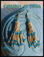 Earrings of Theia by Nameda