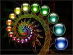 Rainbow Spiral by Nameda