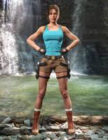 Lara - Dagger of Xian (DOX) by tigerste