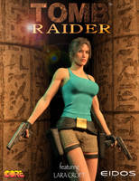 Tomb Raider I - poster remake by tigerste