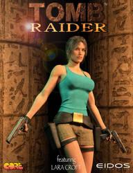 Tomb Raider I - poster remake by tigerste