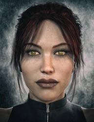 Lara Genesis 3 Female - doppelganger by tigerste