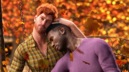Autumn embrace by tigerste