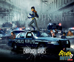 Batgirl Rises by batmannotes