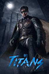 Titans Robin Poster by batmannotes