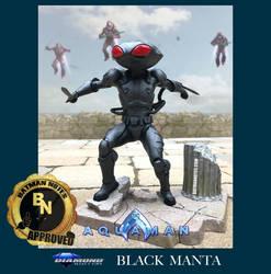 Black Manta Diorama from The Aquaman Movie by batmannotes