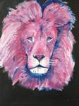 Nebula lion by Mau-Ve