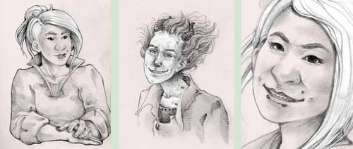 Splittermond sketches by duridya