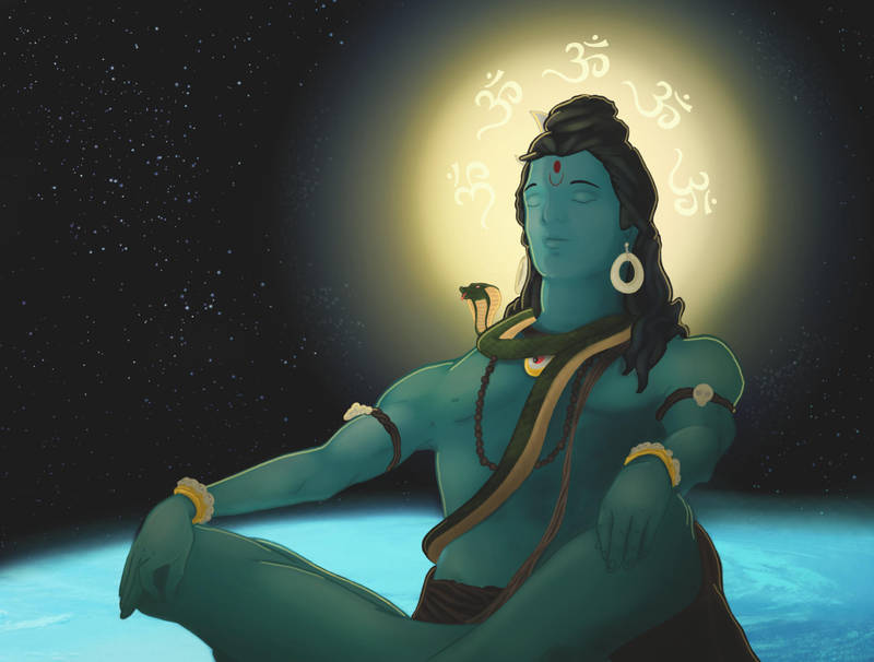 Shiva by TRAVELLINGTHEC0SM0S