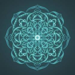 Samsara Mandala by TRAVELLINGTHEC0SM0S