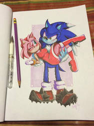 Are you Sonic? by Mitzy-Chan