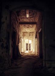 Mysterious Corridor by SandsteinLicht