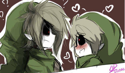 Ben Drowned x Insanity Ben-  You're so Handsome!!! by LiizEsparza-Chan