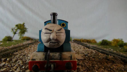Thomas' Closed eyes Face by Calebtrain