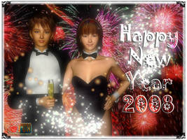 New Year 2008 by Buaya-kun