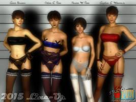 2015 Line-Up by Buaya-kun