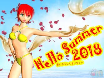 Say Hello to Summer 2018 by Buaya-kun
