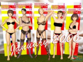 January 2006 Line-Up - part 1 by Buaya-kun