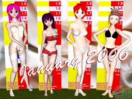 January 2006 Line-Up - part 2 by Buaya-kun