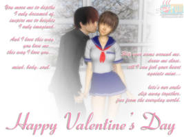 Valentine 2006 by Buaya-kun