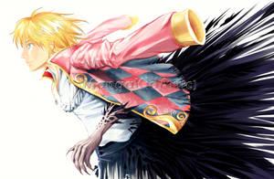 Howl's Dark Side by MangaKidArt
