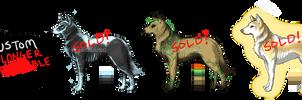 OTA a Wolfie! [CLOSED] Batch 4 by MangaKidArt