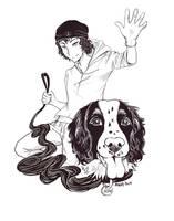 Day 7-Humanized Form by MangaKidArt