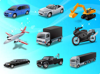 Free Transport Vector Icons by freevectordownload