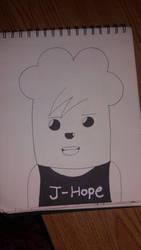 J-Hope Hip Hop Monster by Britney151