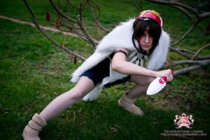 Princess Mononoke - San by Tazziecosplay