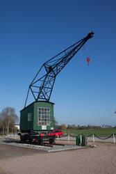 Old crane by JoergJohannMueller