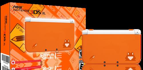 Limited edition New 3dsxl Flipnote studio edition by FlipboyProduction