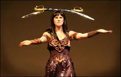 Warrior Princess by icequeenserenity