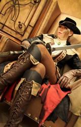 Bloodborne - Lady Maria by icequeenserenity