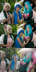 Magi: Distractions by the-sushi-monster