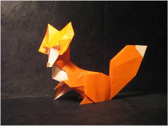 Origami Fox by Lexar-