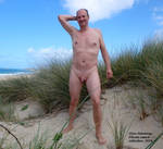 Male nudist exposed. Studland 2018 by Natural-Guy