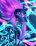 KDA Akali by NefyFeiri