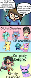 Love Your Characters by TheCreatorOfSoften