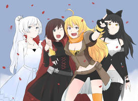 RWBY fanart by UntoldMage