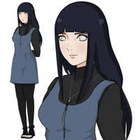 Hinata Uzumaki Design by JulesRoux