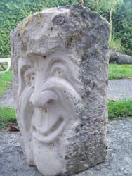 sculpture en pierre  calcaire by traficotte