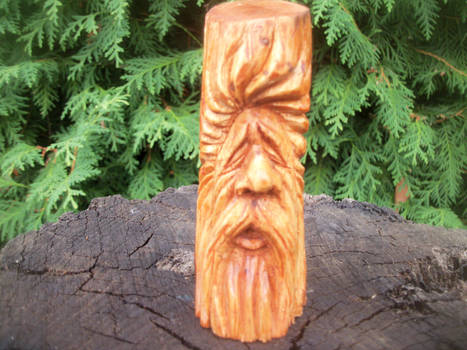Mini wood spirit by traficotte
