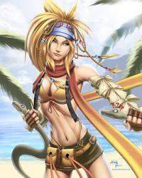 Rikku (Final Fantasy X / X-2) by DigiFlohw